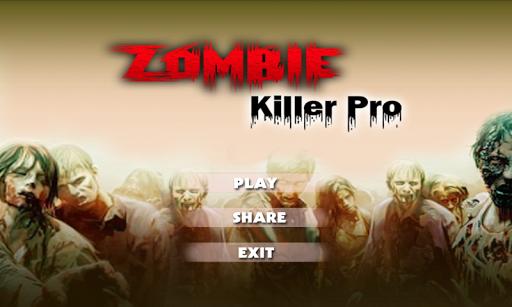 Zombie Kill Pro