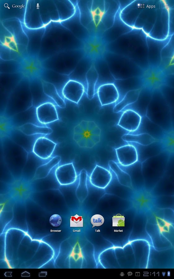 Prismatic Live Wallpaper- screenshot