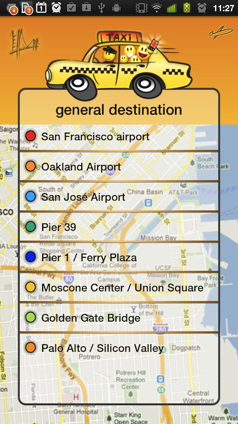 Taxi Share San Francisco - screenshot