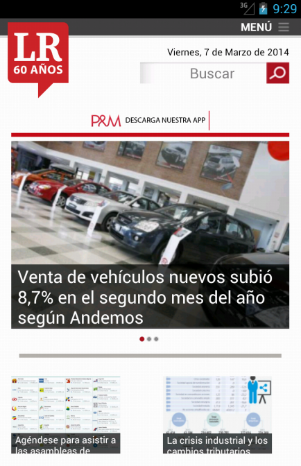 La Republica- screenshot