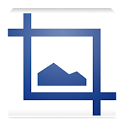Resize and rotate photo logo