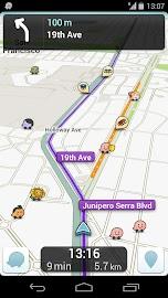 Waze Social GPS Maps & Traffic Screenshot 1