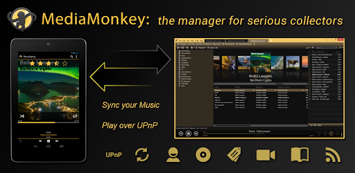 Unlocks all the Pro features of MediaMonkey.