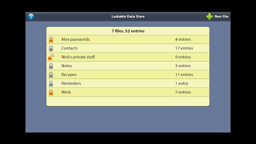 Lockable Data Store 1.2.2 screenshots 4