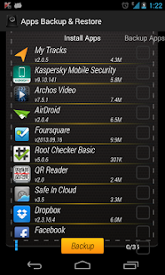 Apps Backup & Restore - screenshot thumbnail