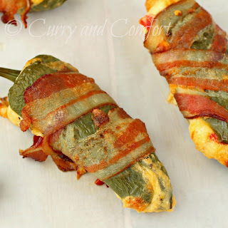 Bacon and Pimento Cheese Jalapeno Poppers