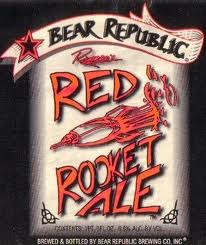 Logo of Bear Republic Red Rocket Ale
