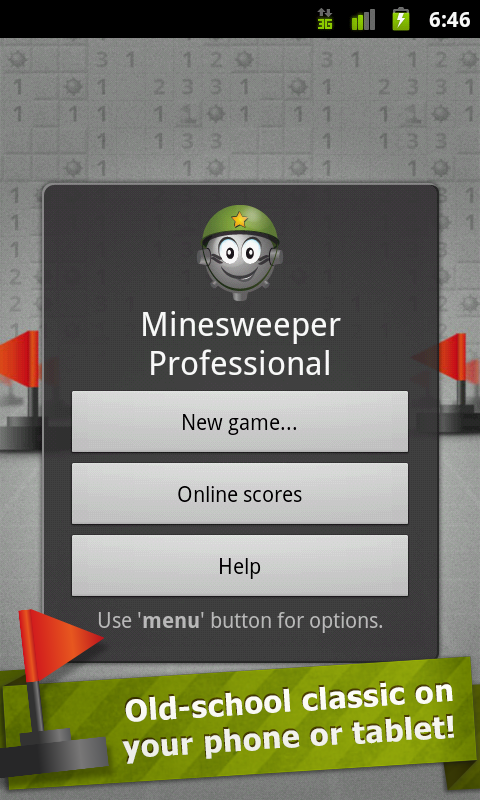 Minesweeper Professional- screenshot