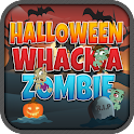 Whack A Zombie Halloween Game icon