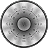 Vatch Grey Clock Widget 2×2 logo