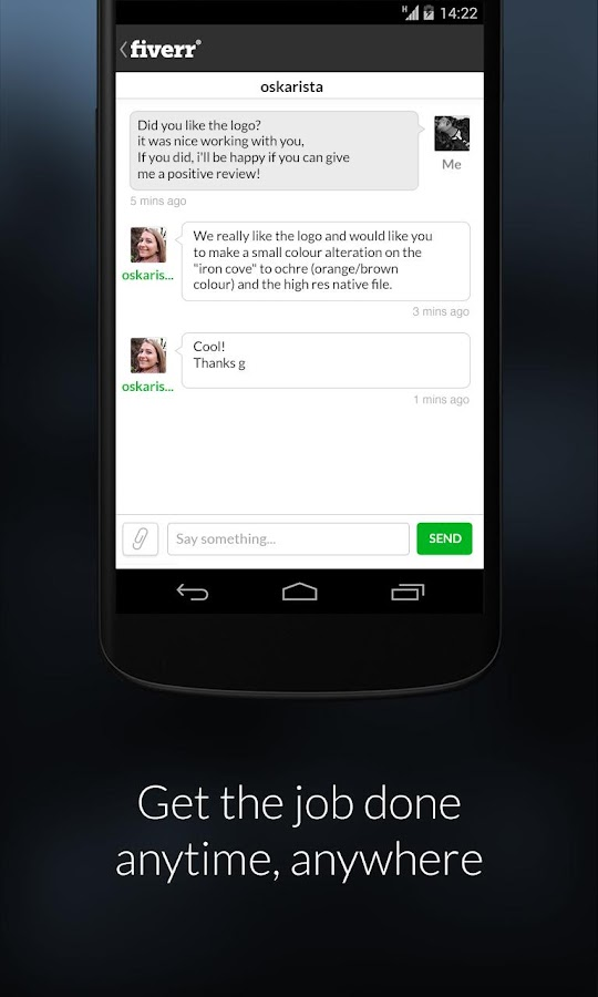 Fiverr- screenshot