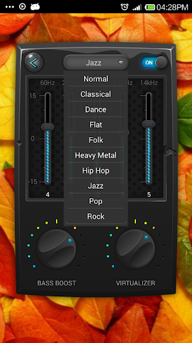 Equalizer & Bass Booster Pro - screenshot