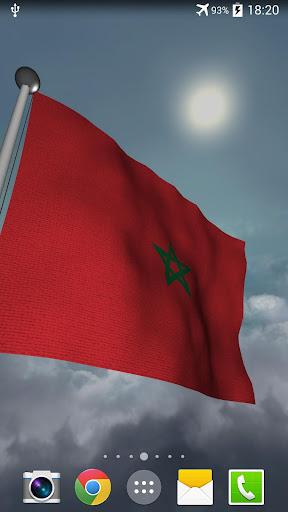 Morocco Flag + LWP