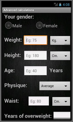 BMI and Ideal Weight Pro
