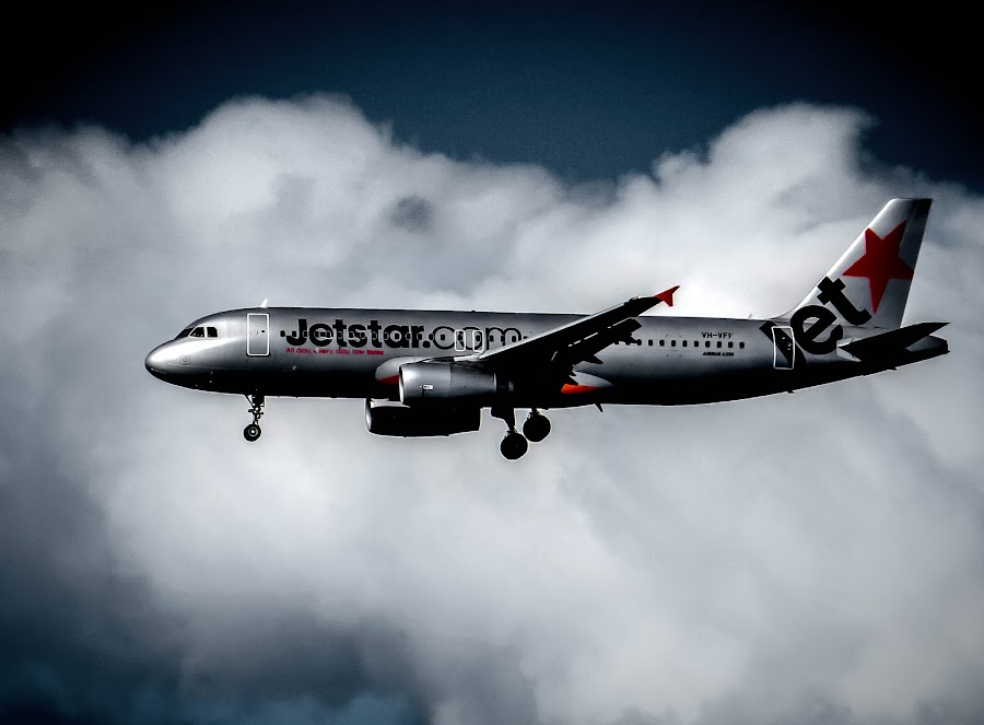 jetstar by Teodora Motateanu - Transportation Airplanes