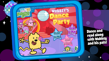 Screenshot of Wubbzy's Dance Party