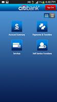 Screenshot of Citibank TH