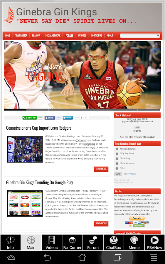 Ginebra Gin Kings- screenshot