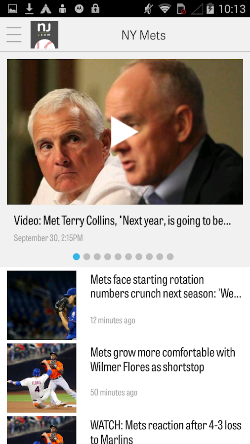 NJ.com: New York Mets News- screenshot