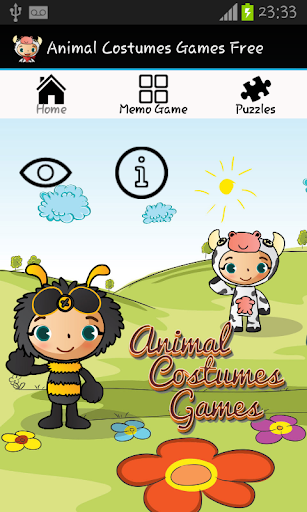 Animal Costumes Games Free