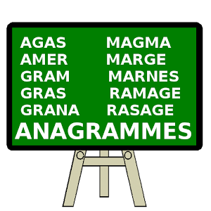 Anagrammes Mot Quiz – Francais for PC and MAC