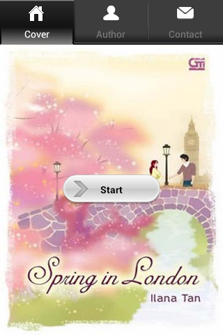 Novel Cinta Spring in London - screenshot