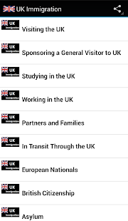 UK Immigration - screenshot thumbnail