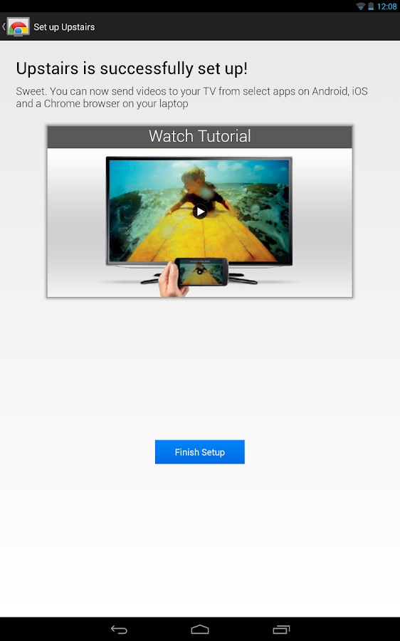 Free Google Chromecast App for Android