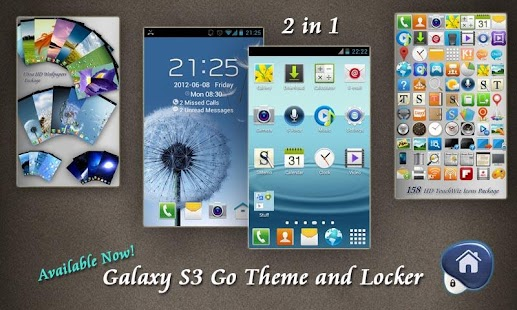 Optimus 4X HD Go Theme - screenshot thumbnail