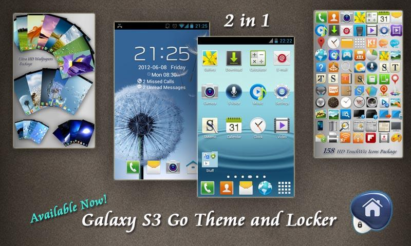 Optimus 4X HD Go Theme - screenshot