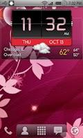 Screenshot of 3D Flip Clock Theme Pack 01