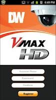 Screenshot of DW VMAXHD Mobile Viewer