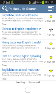 Pocket Job Search - Vacancies - screenshot thumbnail
