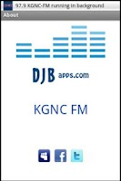 Screenshot of 97.9 KGNC-FM