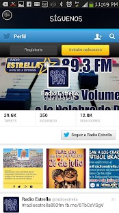 Radio Estrella 89.3 FM- screenshot thumbnail