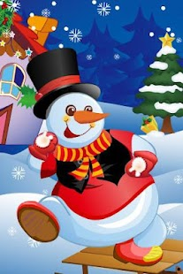 Funny Snowman Dress Up