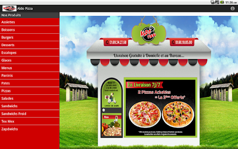 Aldo Pizza screenshot 3