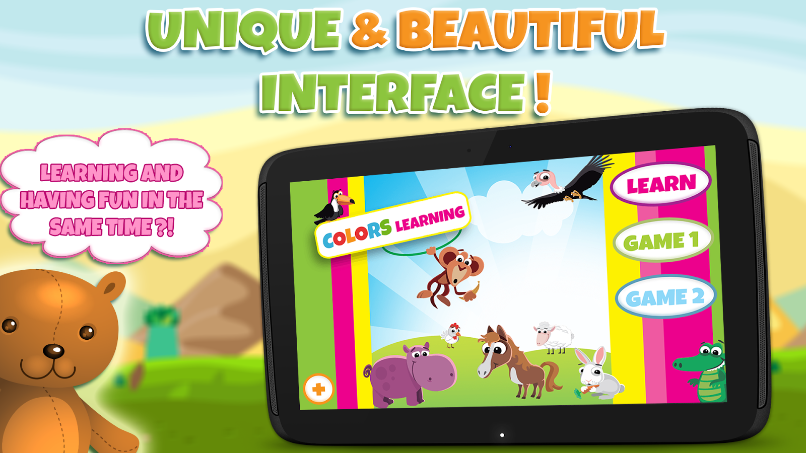 Game to learn colors - Learning Colors For Toddlers Screenshot