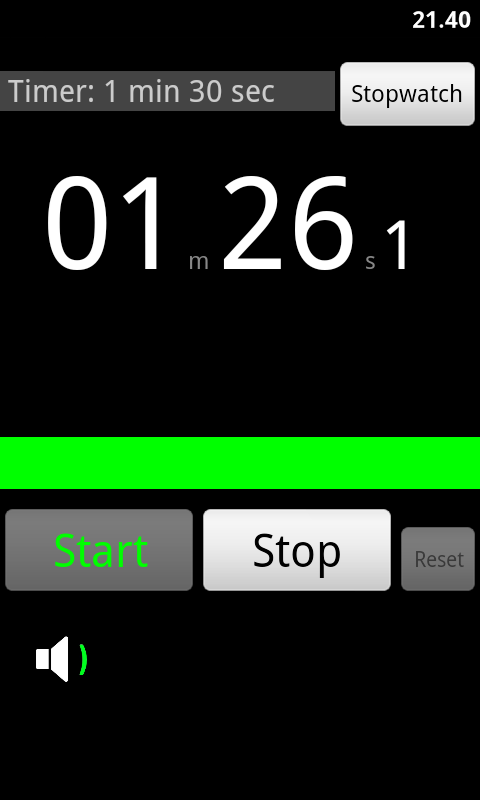 Stopwatch and Timer- screenshot