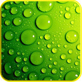 3D Raindrops effects live WP