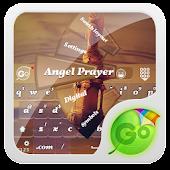 Angel Prayer GO Keyboard Theme
