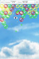 Screenshot of Bubbles and Clouds
