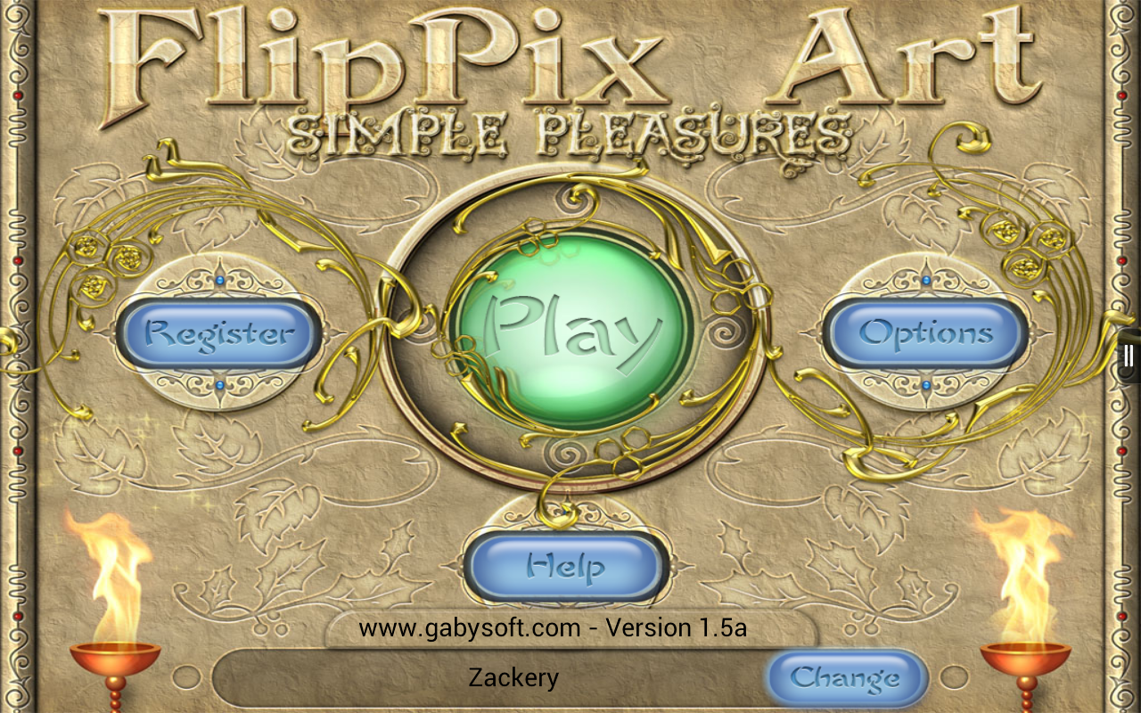 FlipPix Art - Simple Pleasures- screenshot