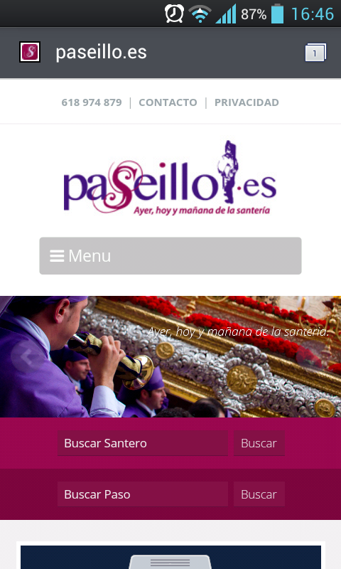 Paseillo.es- screenshot