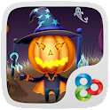 Pumpkin head GO Launcher Theme icon