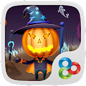 Pumpkin head GO Launcher Theme
