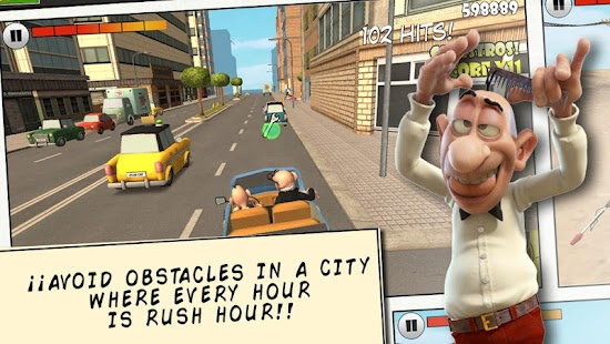 Mort & Phil: Frenzy Drive- screenshot thumbnail
