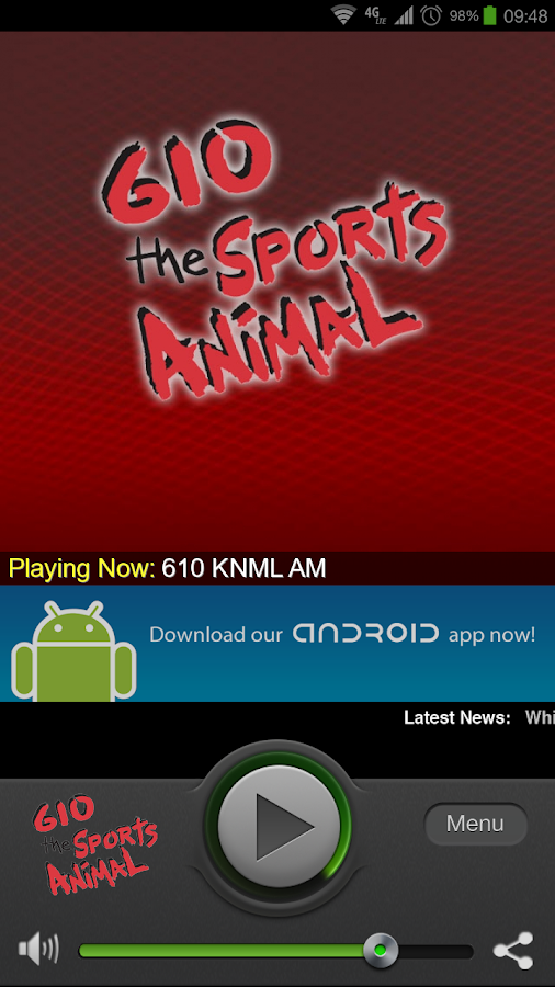 610 KNML AM - screenshot