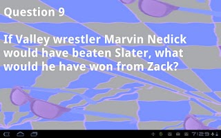 Screenshot of Saved By The Bell Quiz