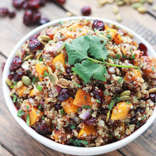 Butternut Squash and Cranberry Quinoa Salad